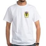 Hancocks White T-Shirt