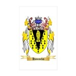 Hancocks Sticker (Rectangle 50 pk)