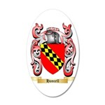Hancell 35x21 Oval Wall Decal