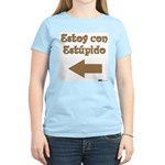 Estoy con Estupido Left Women's Light T-Shirt
