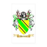 Hanbury Sticker (Rectangle 50 pk)