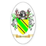 Hanbury Sticker (Oval 10 pk)