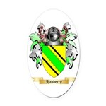 Hanberry Oval Car Magnet