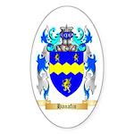 Hanafin Sticker (Oval 50 pk)