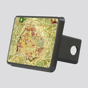 Vintage Map of Vienna Aust Rectangular Hitch Cover