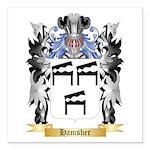 Hamsher Square Car Magnet 3