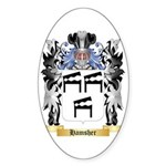 Hamsher Sticker (Oval 50 pk)