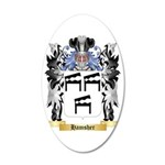 Hamsher 35x21 Oval Wall Decal