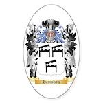 Hamshaw Sticker (Oval)