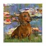 Dachshunds Tile Coasters