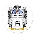 Hamsey Round Car Magnet