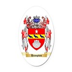 Hampton Oval Car Magnet