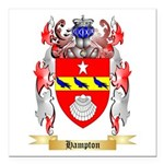 Hampton Square Car Magnet 3