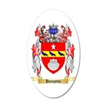 Hampton 20x12 Oval Wall Decal