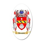 Hampton 35x21 Oval Wall Decal