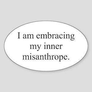 Inner Miz Sticker (Oval)