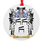 Hampshire Round Ornament