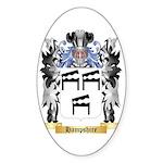 Hampshire Sticker (Oval 50 pk)