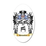 Hampshire 20x12 Oval Wall Decal