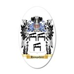 Hampshire 35x21 Oval Wall Decal
