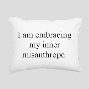 Inner Miz Rectangular Canvas Pillow