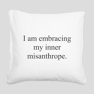 Inner Miz Square Canvas Pillow