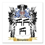 Hampsheir Square Car Magnet 3