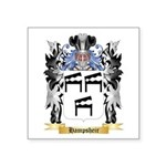 Hampsheir Square Sticker 3