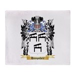 Hampsheir Throw Blanket