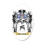 Hampshaw Oval Car Magnet