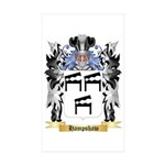 Hampshaw Sticker (Rectangle 50 pk)