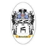 Hampshaw Sticker (Oval 50 pk)