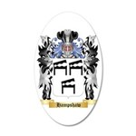 Hampshaw 35x21 Oval Wall Decal