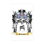 Hampsey Sticker (Rectangle 50 pk)