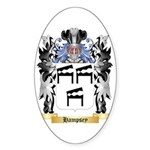 Hampsey Sticker (Oval 50 pk)