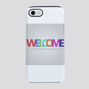 welcome iPhone 7 Tough Case