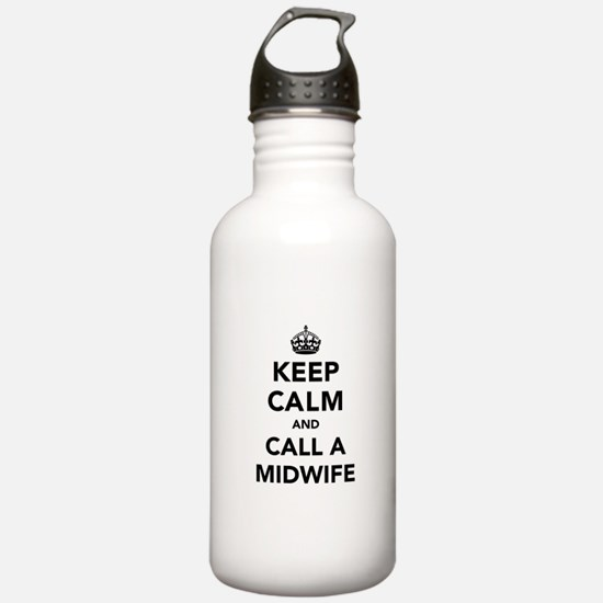 Keep Calm and Call A M Water Bottle