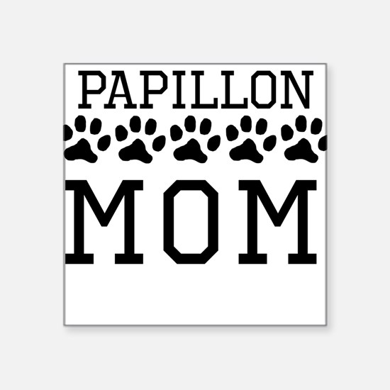 Papillon Mom Sticker