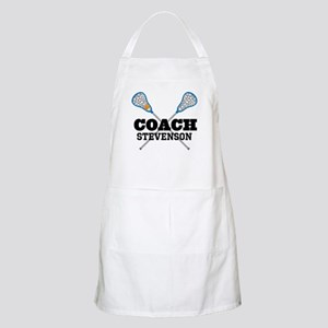 Lacrosse Coach Personalized Apron
