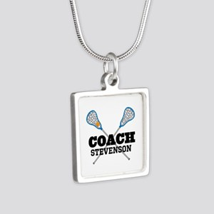 Lacrosse Coach Personalized Necklaces