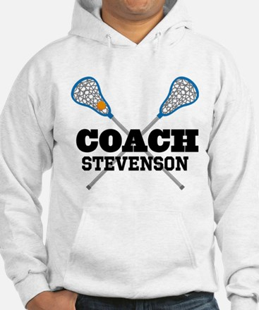Lacrosse Coach Personalized Hoodie