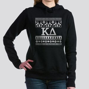 Kappa Delta Ugly Christm Women's Hooded Sweatshirt