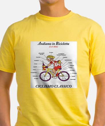 Ciclismo Classico Cycling Anatomy Men's T-Shir
