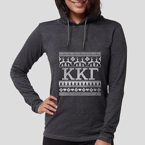 Kappa Kappa Gamma Ugly Christm Womens Hooded Shirt