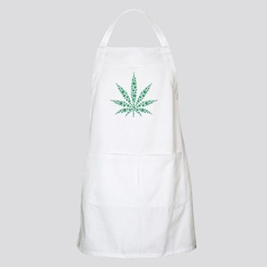 Marijuana leafs Apron