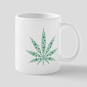 Marijuana leafs Mug