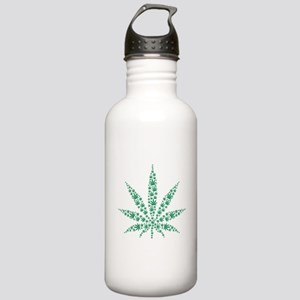 Marijuana leafs Stainless Water Bottle 1.0L