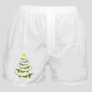 Weiner Dog Dachshund Christmas Boxer Shorts