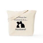 Christmas Husband Tote Bag