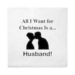 Christmas Husband Queen Duvet
